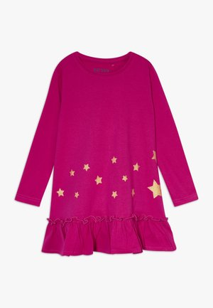 DRESS STAR - Jersey dress - cyclam