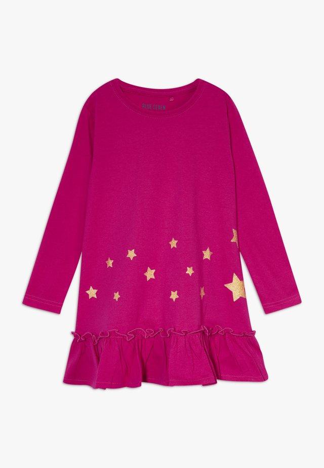 DRESS STAR - Robe en jersey - cyclam