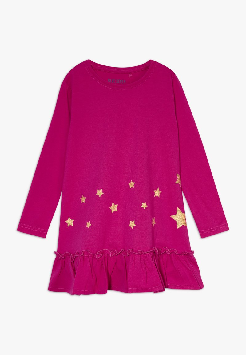 Blue Seven - DRESS STAR - Jerseyjurk - cyclam