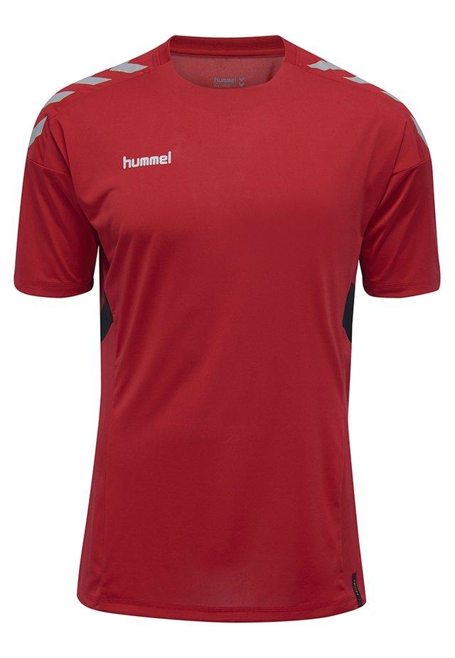 TECH MOVE - Print T-shirt - true red