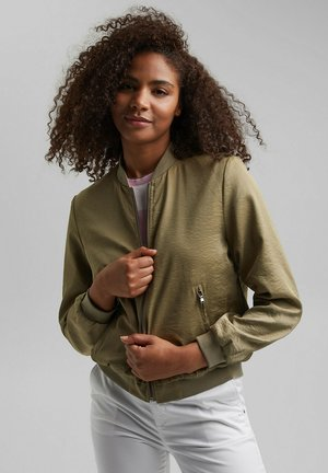 Bomber Jacket - light khaki