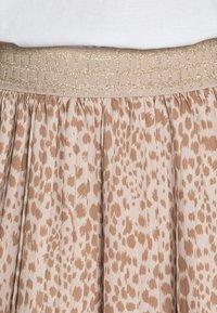 Rich & Royal - SKIRT PLISSEE - Pleated skirt - beige - 4
