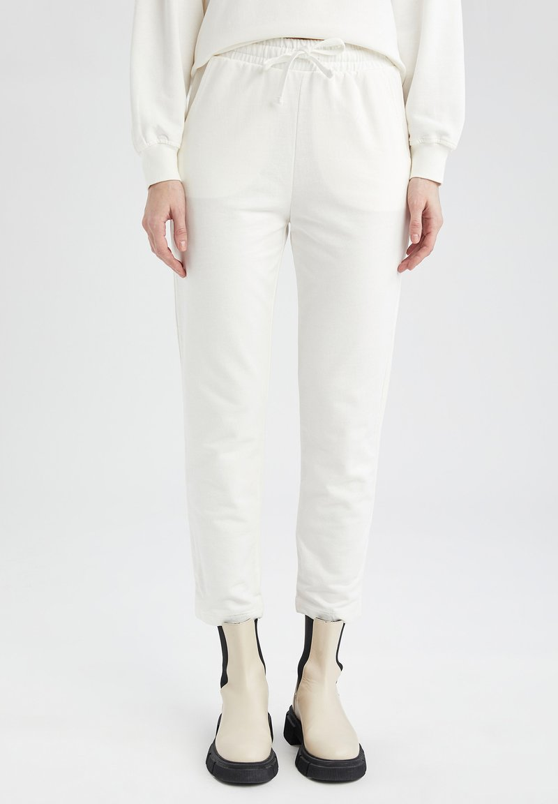 DeFacto - Pantalon de survêtement - ecru