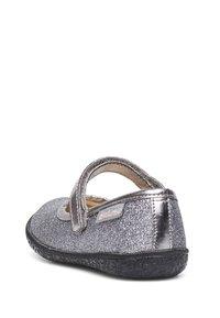 Naturino - PAVIA - Ankle strap ballet pumps - silber - 3