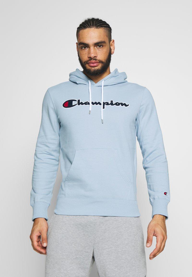 Champion - Bluza z kapturem - light blue