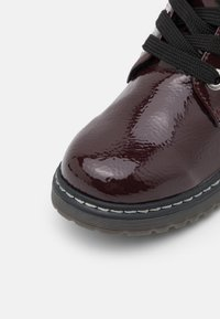 TOM TAILOR - Lace-up ankle boots - bordo - 5