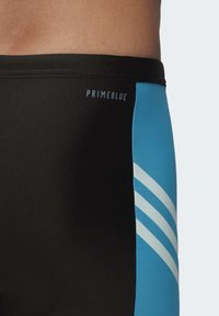 adidas Performance - FITNESS THREE-SECOND SWIM BRIEFS - Bañador - black