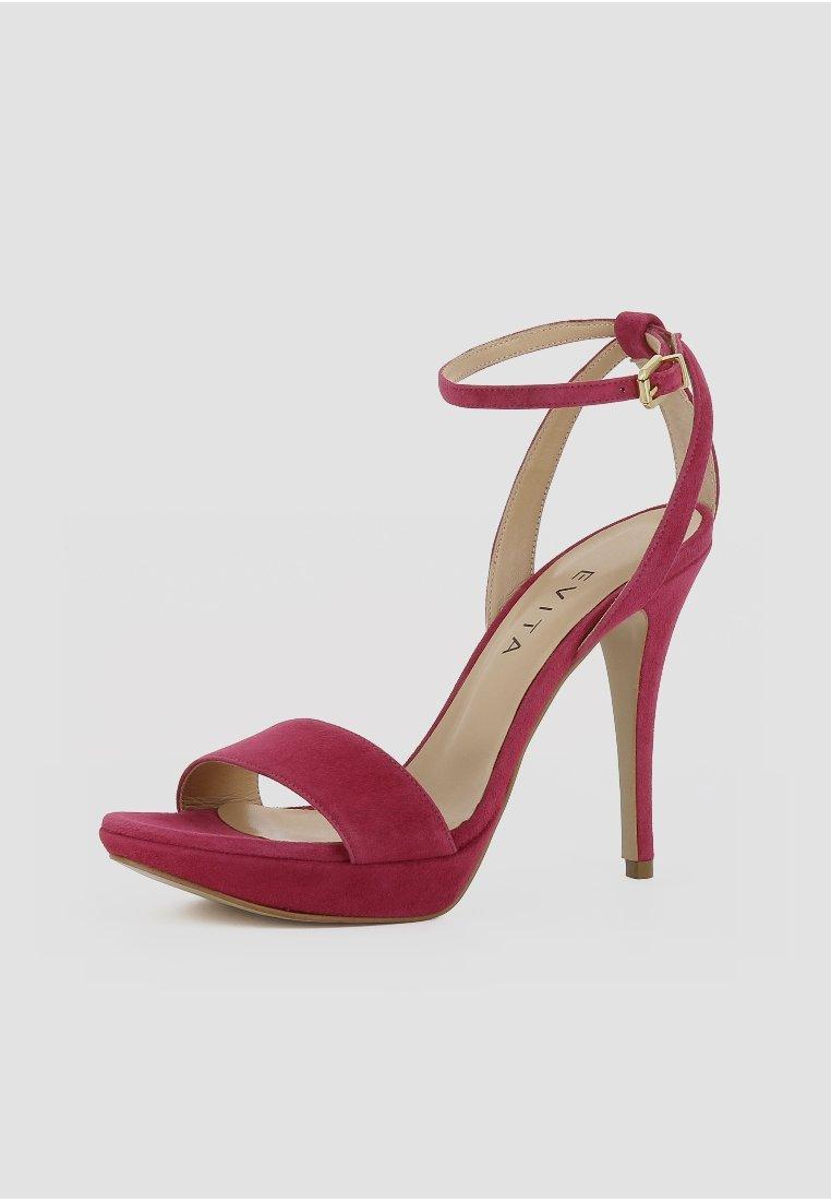 Evita VALERIA - Sandales à talons hauts - pink - Sandales & Nu-pieds femme Qualité