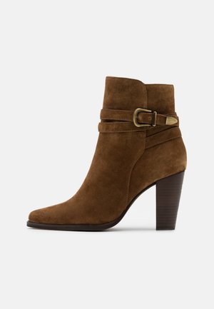 ALEN - Kotníkové boty - cannelle