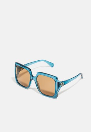 Sunglasses - blue/brown