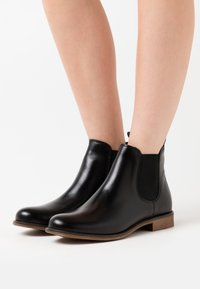 Anna Field - LEATHER - Ankle boots - black - 0