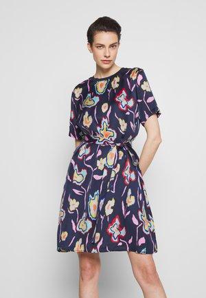 Denní šaty - blue print
