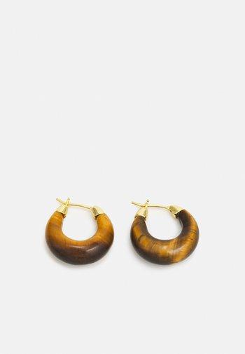 DORTHEA - Boucles d'oreilles - tiger eye