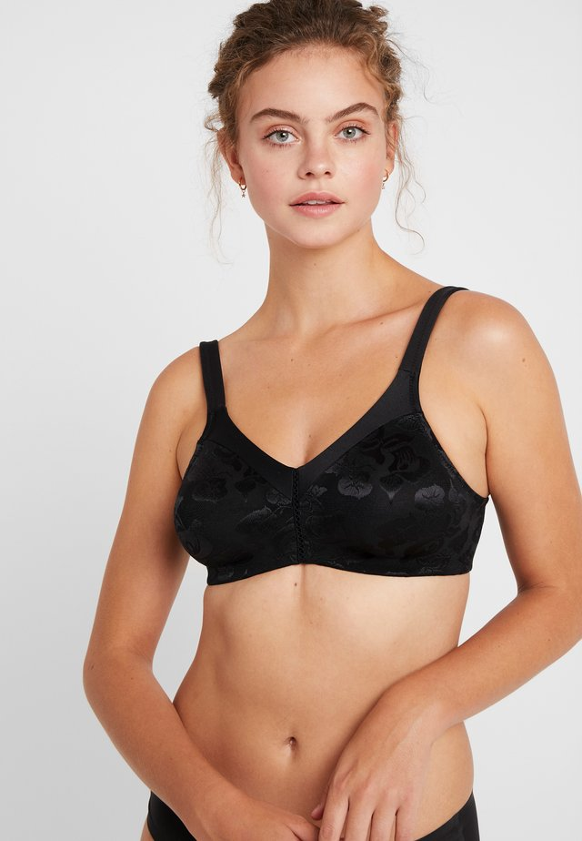 AWARENESS SOFT CUP BRA - Top - black