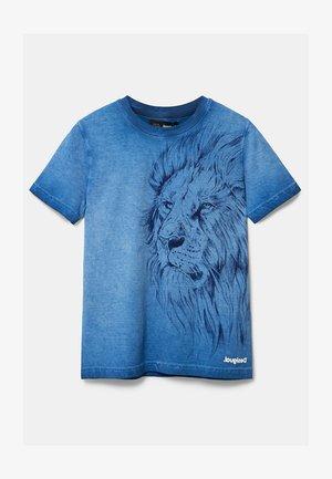 JOANA - Print T-shirt - blue
