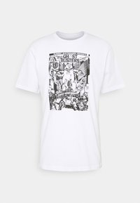 Element - GHOSTBUSTERS X ELEMENT CARNAGE  - Print T-shirt - optic white - 0