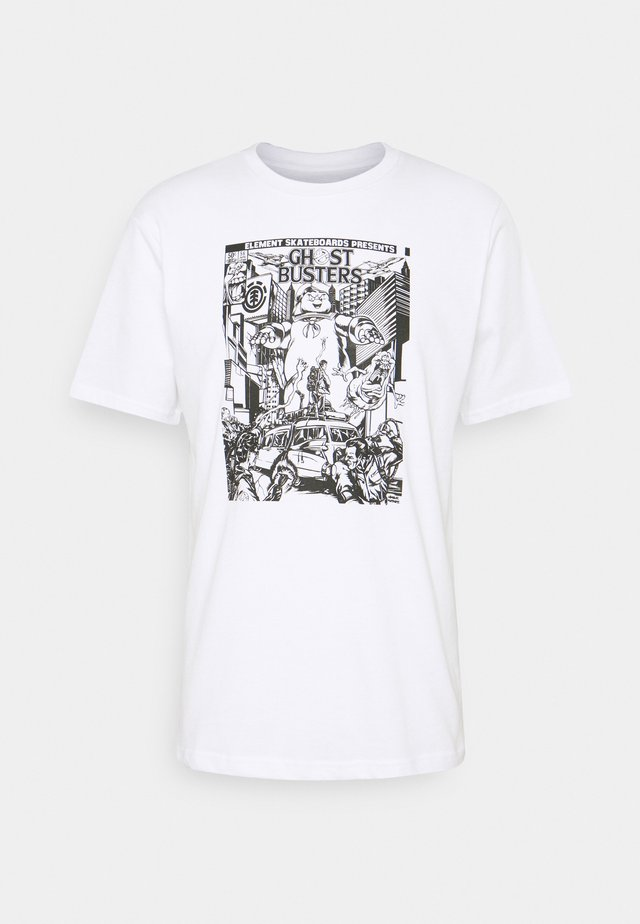 GHOSTBUSTERS X ELEMENT CARNAGE  - T-shirts med print - optic white