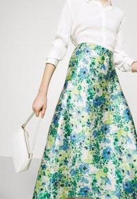 Lindex - SKIRT MEDEA - A-line skirt - blue - 4