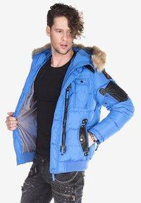 Cipo & Baxx - Winter jacket - blue - 4
