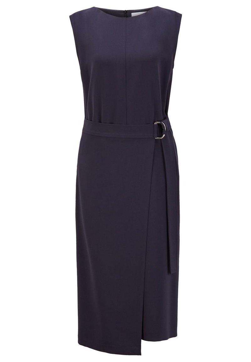 BOSS - DOMANEO - Shift dress - open blue