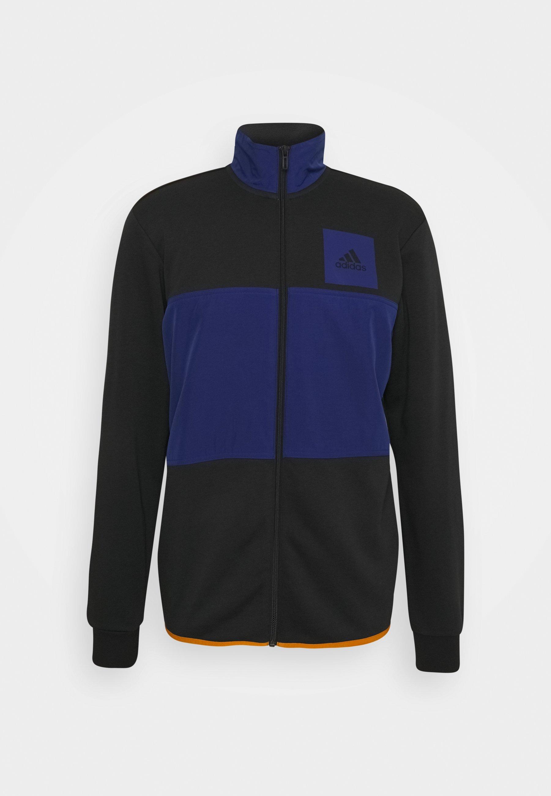 Men TRACK ESSENTIALS - Zip-up sweatshirt