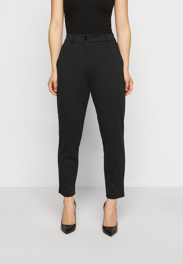 PCFIE PANTS  - Tygbyxor - black