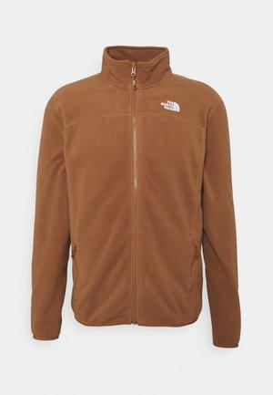 GLACIER FULL ZIP - Fleecová bunda - pinecone brown