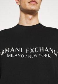 Armani Exchange - Sweatshirt - black - 4