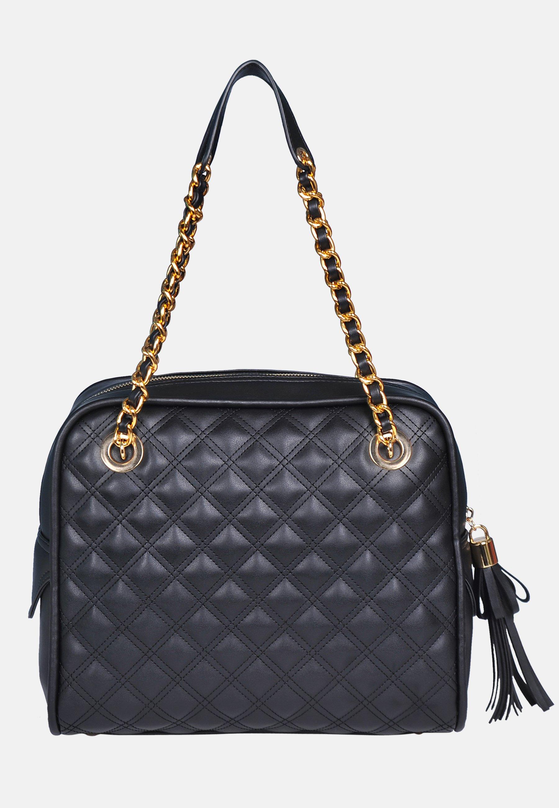 Silvio Tossi Handtasche schwarz