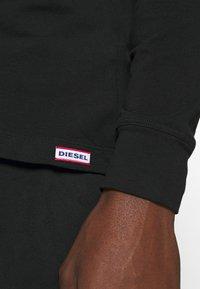 Diesel - UMSET JUSTIN JULIO - Pyjama set - black - 4