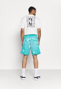 Mitchell & Ness - NBA ALL STAR SHORT - Sports shorts - green/grizzlies teal - 2