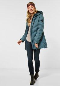 Cecil - MIT STEPPUNG - Winter coat - grün - 1