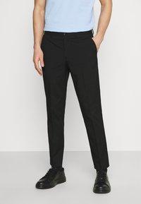 Selected Homme - SLHSLIM MYLOLOGAN CROP - Pantaloni - black - 0