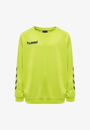 HMLPROMO - Sweatshirt - lime punch
