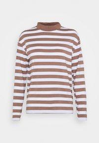 Trendyol - Langærmede T-shirts - mink - 0