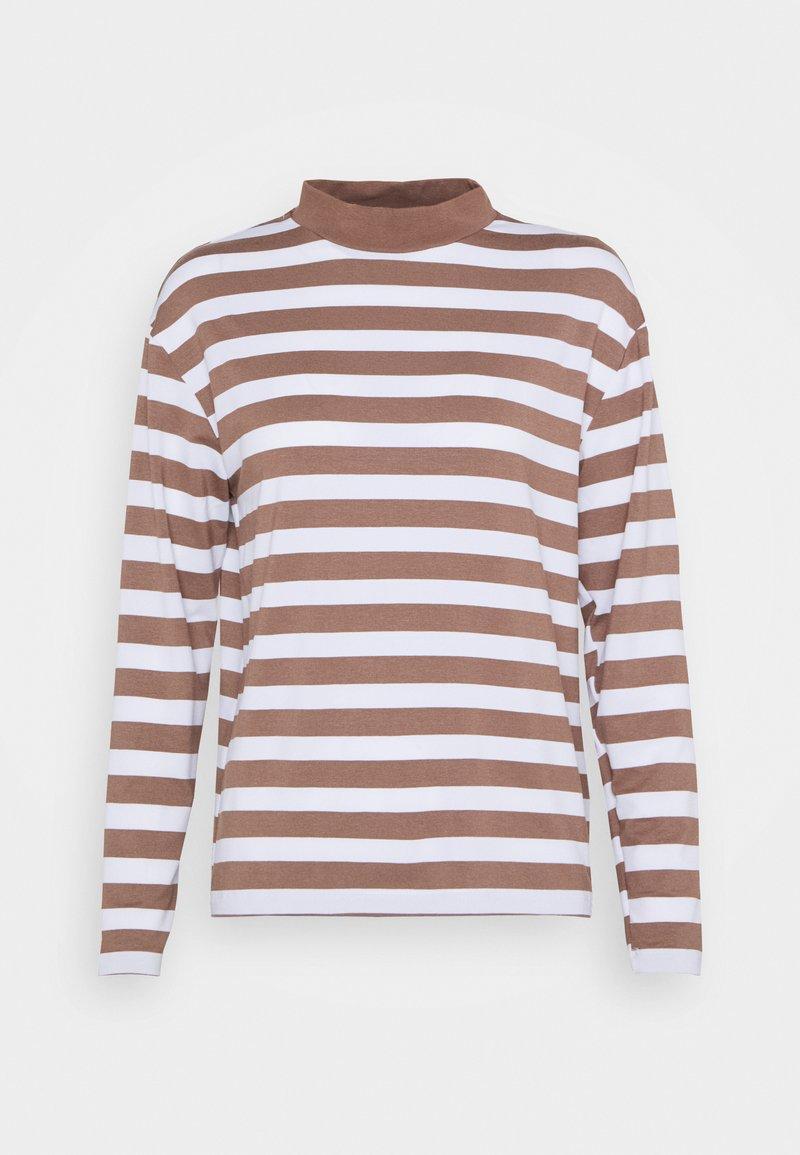 Trendyol - Langærmede T-shirts - mink