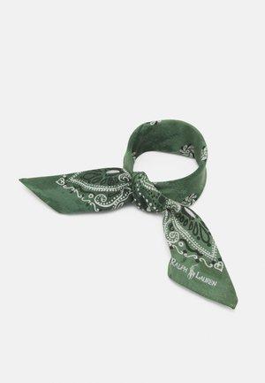 PAISLEY BANDANA - Foulard - sage green