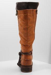 Rieker - Zimní obuv - cayenne choco - 4
