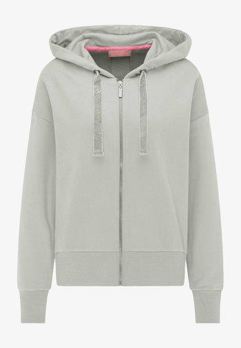 Zip-up sweatshirt - off white