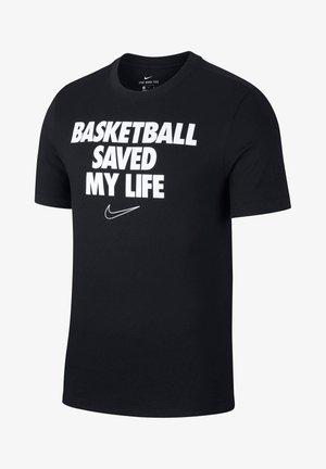 HERREN BASKETBALL - Print T-shirt - schwarz (200)