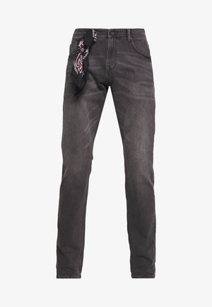 Jean slim - black medium wash