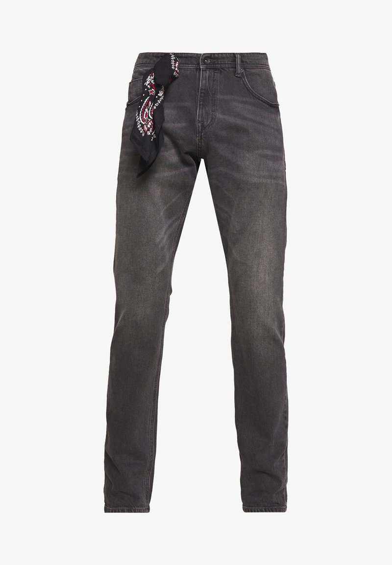 Esprit - Slim fit jeans - black medium wash