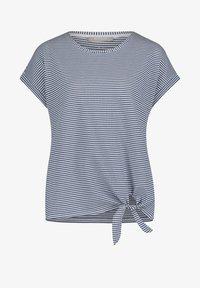 Betty & Co - Print T-shirt - blau/weiß - 3