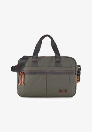 Briefcase - khaki / khaki