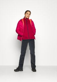 CMP - WOMAN JACKET FIX HOOD - Winter jacket - magenta - 1