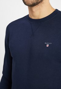 GANT - THE ORIGINAL C NECK  - Bluza - evening blue - 4