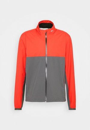 MEN DEXTER JACKET - Outdoor jacket - cabaret red/steel grey