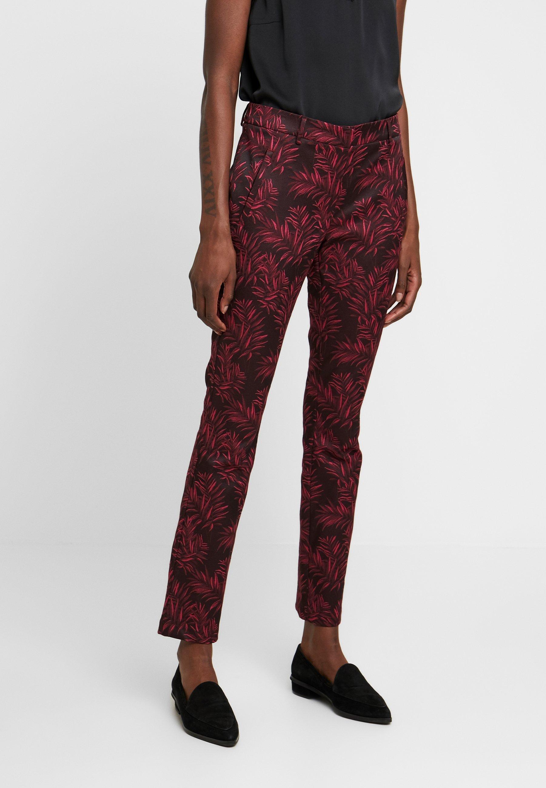 Expresso NATJA - Pantalon classique - bordeauxrot - Pantalons & Leggings Femme 8qPY7