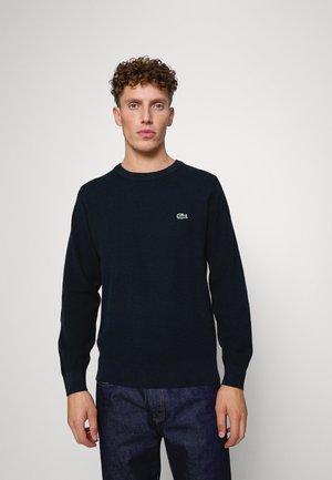 Sweter - navy blue