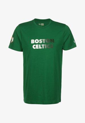 GRADIENT WORDMARK BOSTON CELTICS - T-shirt imprimé - green